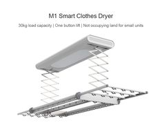 Smart Clothes Dryer from Xiaomi Youpin- White Clothes Dryer, Smart Outfit, Laundry Room, Vacuums, Dryer, Elegant Outfit, Laundry Rooms, Vacuum Cleaners