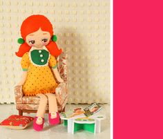 New doll patterns, coming soon!