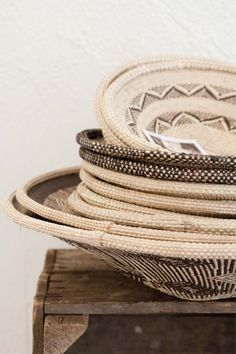 selection of african baskets