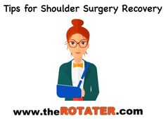 You're having shoulder surgery ... you have the best surgeon .. at the best hospital .. BUT have you prepared for your shoulder surgery recovery ??