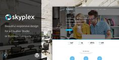Skyplex WordPress - Creative Studio Theme by Nex-Themes Skyplex is a modern wordpress theme for your design studio, creative team or agency. You can customize it very easy to fit your bu
