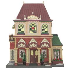 "Heartland Village 9"" Porcelain Village Home ($31.99 Ace Hardware)"