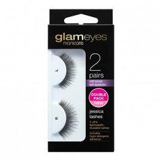 Manicare Glam Jessica Lashes 2 Pairs