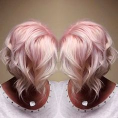 Trendy Silver Rose Hairstyle Colour (11)