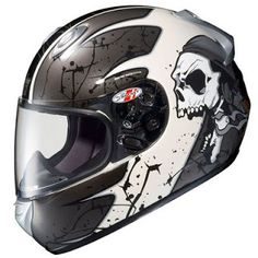 A collection of cool motorbike helmets from around the world featuring some crazy designs. The motorbike helmet is an important piece of ge. Cool Bike Helmets, Full Face Motorcycle Helmets, Helmet Accessories, Custom Helmets, Cool Bikes, Motorbikes, Cool Cars, Cool Stuff, Bikers