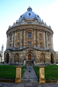 Radcliffe Camera in Oxford, England.  I have a soft spot for gorgeous libraries.