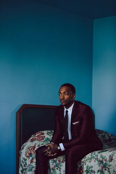 Nicholas Maggio | Photography | Recent Work Anthony Mackie For Rhapsody April 14