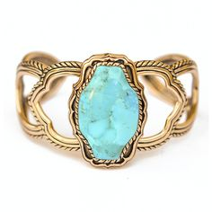 Barse Large Turquoise Cuff ($75) ❤ liked on Polyvore featuring jewelry, bracelets, accessories, rings, green turquoise jewelry, cuff jewelry, blue turquoise jewelry, cuff bangle and barse