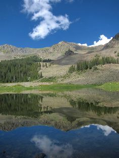 Wheeler Lake, Taos, New Mexico by Mark Schumann50, via Flickr