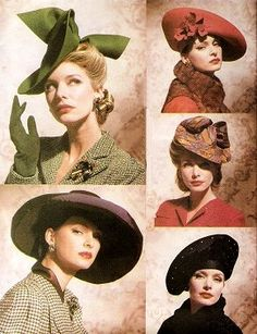 I'll take the olive one, thank you very much!   Lisa's Nostalgia Cafe - 1940s Fashion