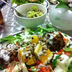 Green Eats at Cafe Santosha