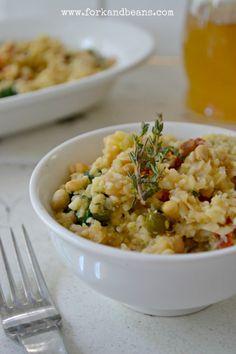 Cauliflower Risotto | Fork & Beans