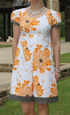 Bebe Dress Sewing Pattern. Not the colors so much but I like the shape of the dress.