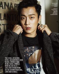 BEAST's Yoon Doo Joon Geek Korea Magazine