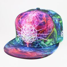 Day to Night Snapback Hat by Alternative Intelligence and Justin Totemical