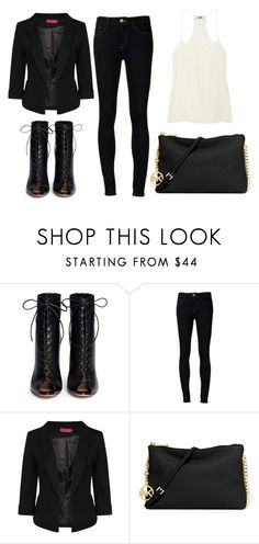 """""""2015/1037"""" by dimceandovski on Polyvore featuring Gianvito Rossi, Ström, Boohoo, MICHAEL Michael Kors and TIBI"""