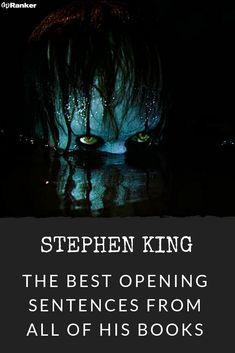 All the Opening Sentences from Stephen King Books, Ranked Stephen King Shining, Misery Stephen King, Stephen King Tattoos, Carrie Stephen King, Stephen King Novels, Stephen Kings, Famous Book Quotes, Famous Books, Quotes From Novels