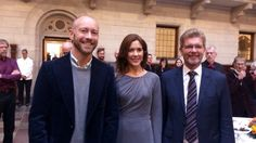 Crown Princess Mary participates in the opening of the exhibition in connection with the 25th anniversary of the registered partnership between persons of the same sex.2014.10.01