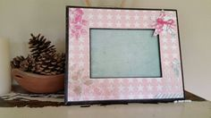 Check out this item in my Etsy shop https://www.etsy.com/listing/240397436/pink-country-stars-frame-vintage-country