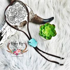 Turquoise Leather Bolo – Ruby Rue Jewelry & Accessories Silver Bead Necklace, Leather Necklace, Silver Beads, Beaded Earrings, Turquoise Cuff, Turquoise Pendant, Turquoise Earrings, Glitter Canvas, Leather Tassel