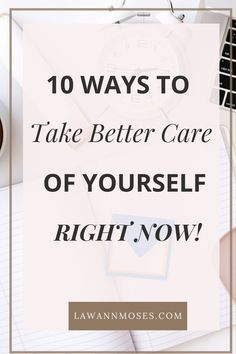 It's time to make yourself a priority instead of an option. Your self-care is important for you and those around you. Take time to care for yourself so you can be your personal best. Not sure where to start? Check out these 10 ways to start taking care of yourself right now. #selfcare #selflove #momselfcare Make Yourself A Priority, Tough Day, Love Tips, Emotional Healing, Self Love Quotes, Anxiety Relief, Mindful Living, Self Confidence, Positive Affirmations