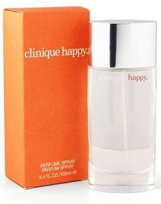 Clinique Happy  Clinique for women - citrus, floral, sweet, fresh spicy, green, fruity
