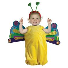 Eric Carle Baby Caterpillar butterfly costume