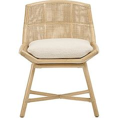 Laura Kirar Maketto Side Chair M 432  MidCentury  Modern, Traditional, Transitional, Upholstery  Fabric, Dining Room by Mc Guire Furniture