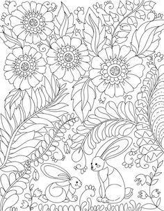 downloadable adult coloring page magic in by liltcoloringbooks printed pages spring colors coloring