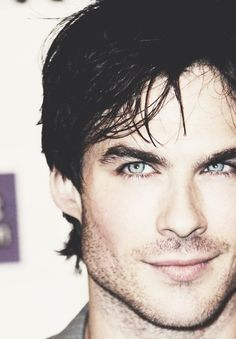 Ian Somerhalder, ooh my goodness that look! ;) still think he would've made the perfect christian grey #fiftyshades