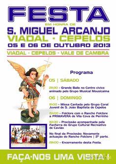 Festa em honra de S. Miguel Arcanjo > 5 e 6 Outubro 2013 @ Viadal Cepelos #ValeDeCambra #CepelosVLC
