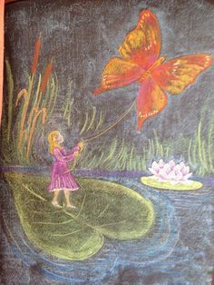 chalk board spring butterflies - Yahoo Image Search Results