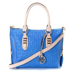 Michael Kors bags,very cheap really,about save 80% off,i love it ~! | See more about monograms, blues and leather.