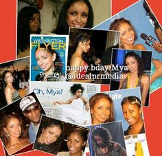 Happy Birthday to one of our favorite dmv clients to ever work with...singer Mya (Oct 10th)
