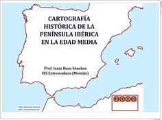Cartografía histórica de la Península Ibérica en la Edad Media (Animación de Isaac Buzo Sánchez)