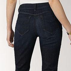 Liz Claiborne® Classic Stretch 5-Pocket Jeans - jcpenney