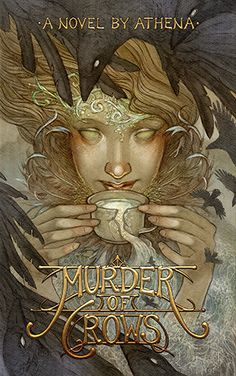 Cover art for 'Murder of Crows' by Amanda Sartor.