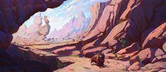 Dive into The Art of Slawek Fedorczuk, Polish Concept Artist for Animation & Video Game. Landscape Concept, Fantasy Landscape, Landscape Art, Landscape Paintings, Matte Painting, Hand Painting Art, Environment Concept Art, Environment Design, Landscape Illustration