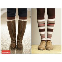 Forget about the cold with a pair of Vim & Vigr compression socks! These cute socks are from the #Nylon collection and are great to wear day or night, no matter where you go. Shop now at www.brightlifego.com