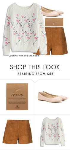"""lynn"" by blissfulchapters ❤ liked on Polyvore featuring Dogeared, Chloé, rag & bone and Chicwish"