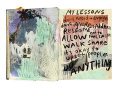 @caitmakes   Creative Team Inspiration   Messy Lists   Get Messy Art Journal