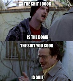 Walt and Jesse. the early days Navy Humor, Breaking Bad Jesse, Bad Quotes, Shannara Chronicles, Jesse Pinkman, Cool Album Covers, American Crime, Kim Possible, Walter White