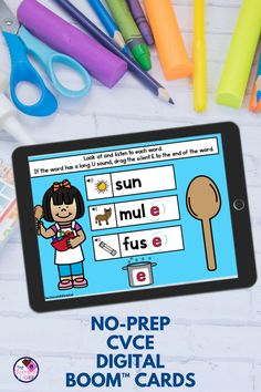 Are you teaching the long vowels with silent E phonics patterns? They can be so tricky but very necessary to learn to have success in reading and spelling. This fun CVCE digital word work bundle is a… More
