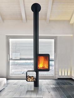 Fantastisch Kamine, Dachgeschoss, Wasserführender Ofen, Ofen Wohnzimmer, Kamin Modern,  Offener Kamin,