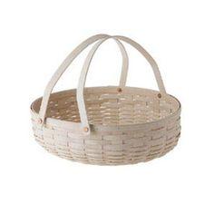 NEW Longaberger Khaki Check Medium Oval Gathering Basket Liner