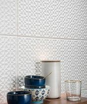 Simply Geometric 33 5x60 Tile Topps Tiles Textured Tiles Bathroom Geometric Decor Topps Tiles