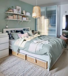 Home Furniture Design Ikea Malaysia Catalogue 2019 - Home Ideas Ikea Bedroom, Room Ideas Bedroom, Bedroom Decor, Ikea Furniture, Furniture Design, Cama Ikea, Ikea Inspiration, Home Decor Trends, Home Accessories