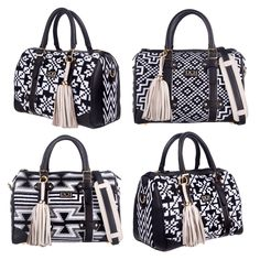 #blackandwithe Wayuu bag by DCH DIVINA CASTIDAD HANDBAGS www.divinacastidadhandbags.com