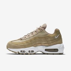 new styles f9706 af028 Chaussures Femme AIR MAX 95 Champignon Blanc Voile