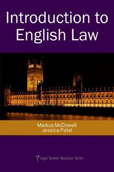 Intro to English Law for Kindle